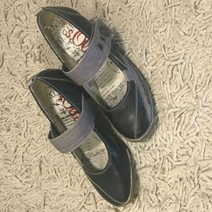 Size 36 S. Oliver funky mary-janes